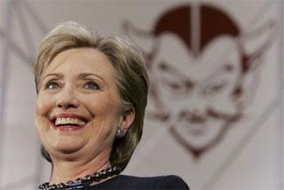 hillary devil